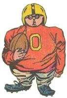 Herbie, in football uniform