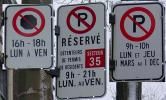 parking signs in Montreal can be complex